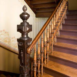 Historische Treppengeländer