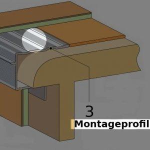 Treppenstufen Montageprofile