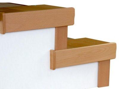 Trittstufenkappen Stellstufenkappen Treppensanierung