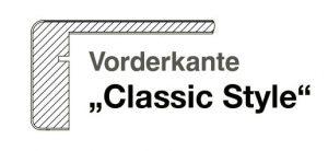 Vorderkante-Classic Style